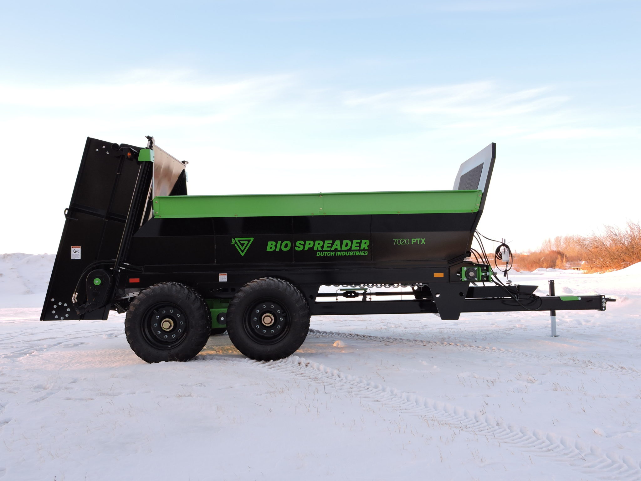 BioSpreader Manure Spreader has Smooth Ride