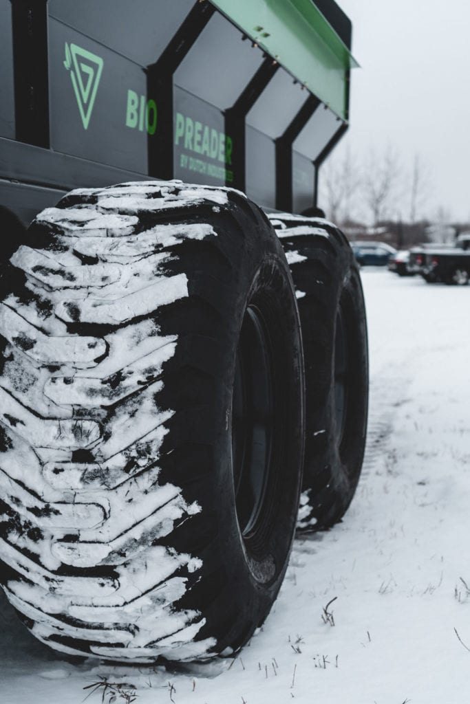 Dutch BioSpreader 8020 PTX Tires